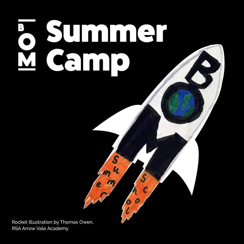 Summer Camp Social Graphic