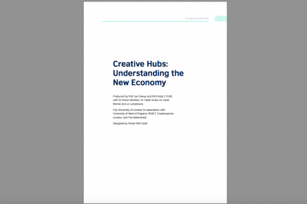 Creative Hubs: Understanding the New Economy