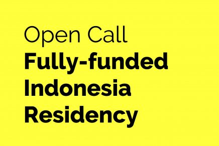 Open Call for Fully-funded Indonesia Residency